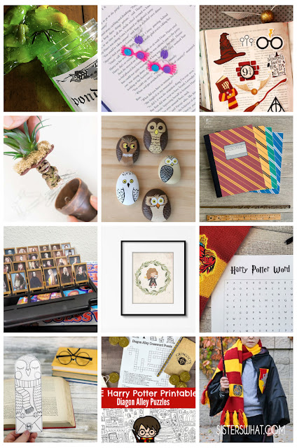 diy harry potter easy crafts and printables