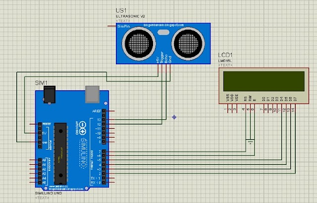 Interface ultrasonic sensor with arduino