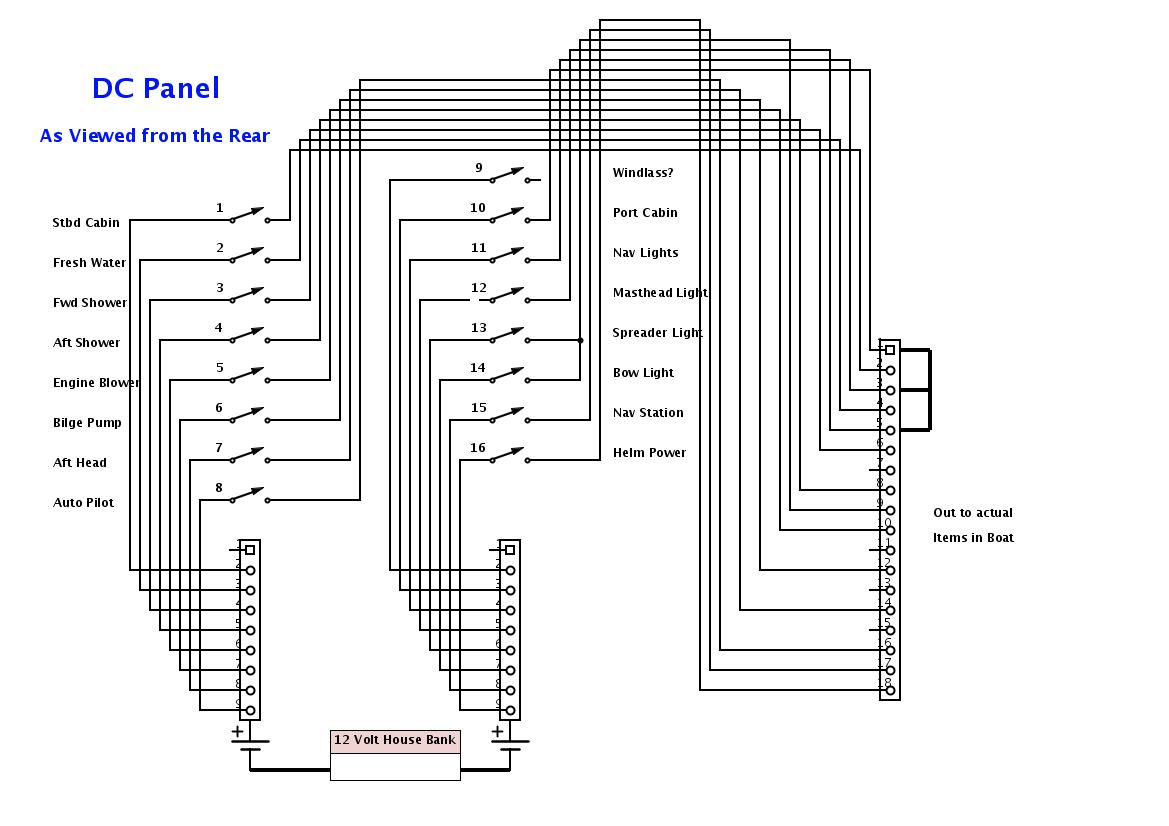 medium resolution of dc distribution panel wiring diagram wiring diagrams show boat distribution panel wiring diagram wiring library dc