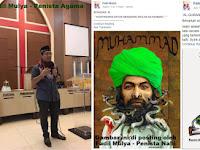 Sebut Allah itu Wayang dan Nabi Muhammad Dalang, Lelaki Kristiani ini Jadi DPO
