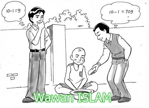 Kekuatan sedekah dalam Islam