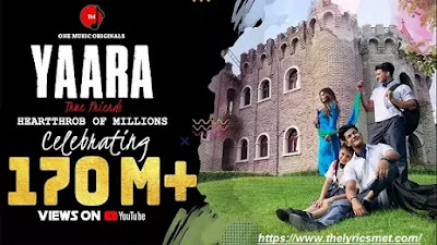 Yaara Song Lyrics | Mamta Sharma | Manjul Khattar | Arishfa Khan | Ajaz Ahmed | Bad-Ash
