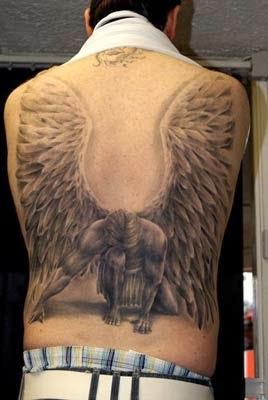 Atomic Neverland Tatuagens De Anjos Fotos E Desenhos Para
