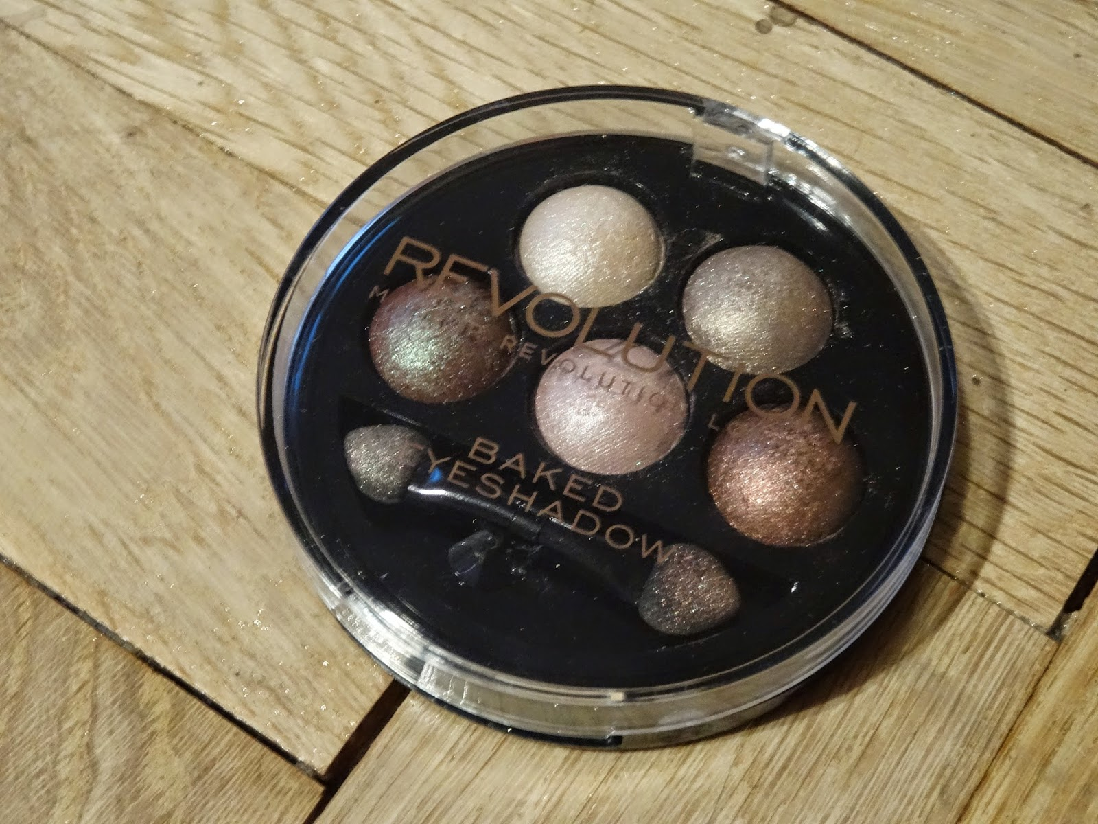 makeup revolution baked eyeshadow pure and innocent