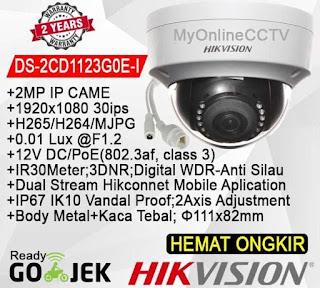 IP Camera HIKVISION DS-2CD1123G0E-I 2.8mm