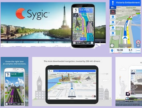 GPS Navigation & Maps Sygic v17.3.10 [Unlocked] Apk apps