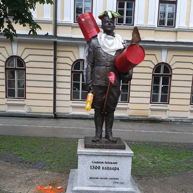 #Каплар1300 #Споменик #Ужице #Сркнављење #Комунизам #Злочин #Први #Светски #Рат #КМновине