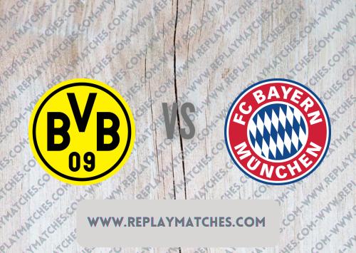 Borussia Dortmund vs Bayern Munich -Highlights 17 August 2021