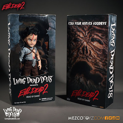 Evil Dead 2 Ash Living Dead Dolls by Mezco Toyz