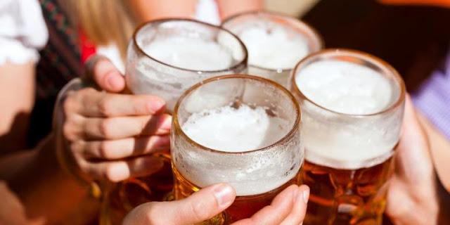 Banyak Minum Bir Sebabkan Perut Buncit?