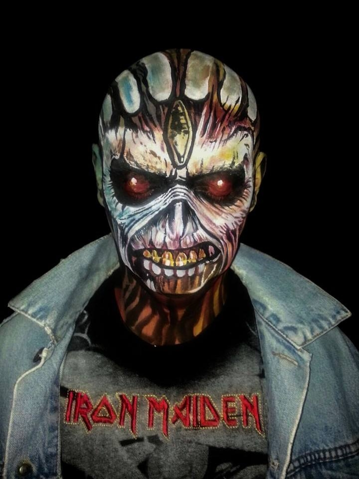 09-Iron-Maiden-Monster-Sagot-Body-Paint-Eclectic-Collection-of-Body-Painting-Make-Ups-www-designstack-co