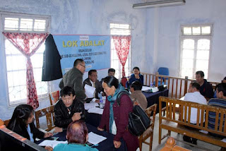 National  Lok-Adalat at Kalimpong Court