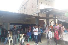 Warga Desa Hasinggahan Datangi Polres Samosir