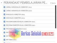 Perangkat Pembelajaran PJOK Kelas 3 SD Kurikulum 2013