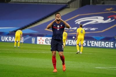 ملخص واهداف مباراة فرنسا واوكرانيا (7-1) مباراة ودية