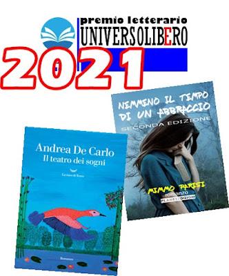 M. Parisi in finale al Premio Universolibero2021-Libri