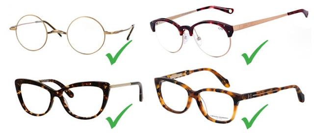 modelos de óculos gatinho