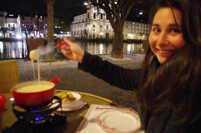 Swiss Cheese Fondue Lucerne