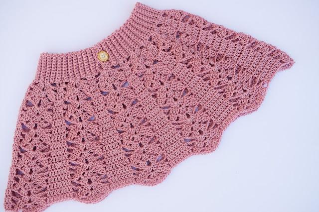 6 - Crochet imagen Falda a crochet para todas las tallas ganchillo paso a paso facil sencillo por Majovel Crochet