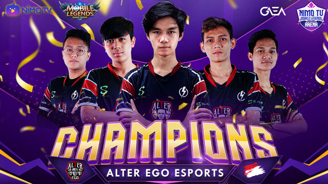 Alter Ego Esports juara Playoff NMA