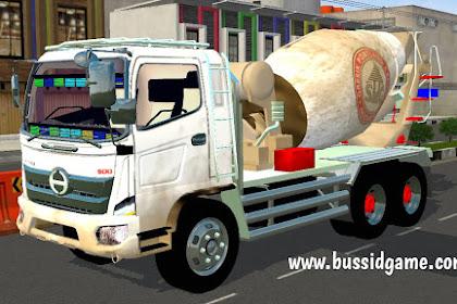 Mod Truck Hino 500 Mixer Molen By NGM Mods