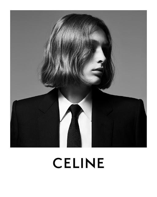 Campaña de Celine bajo la dirección de Hedi Slimane