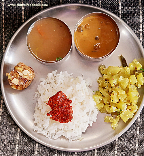 chow chow palya recipe