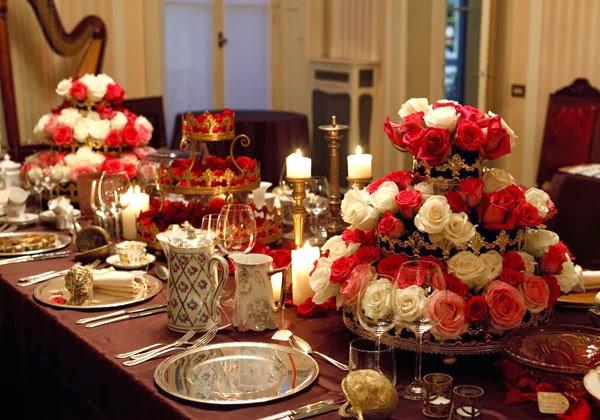 Decorar la mesa de navidad colores en casa - Mesa navidena ...