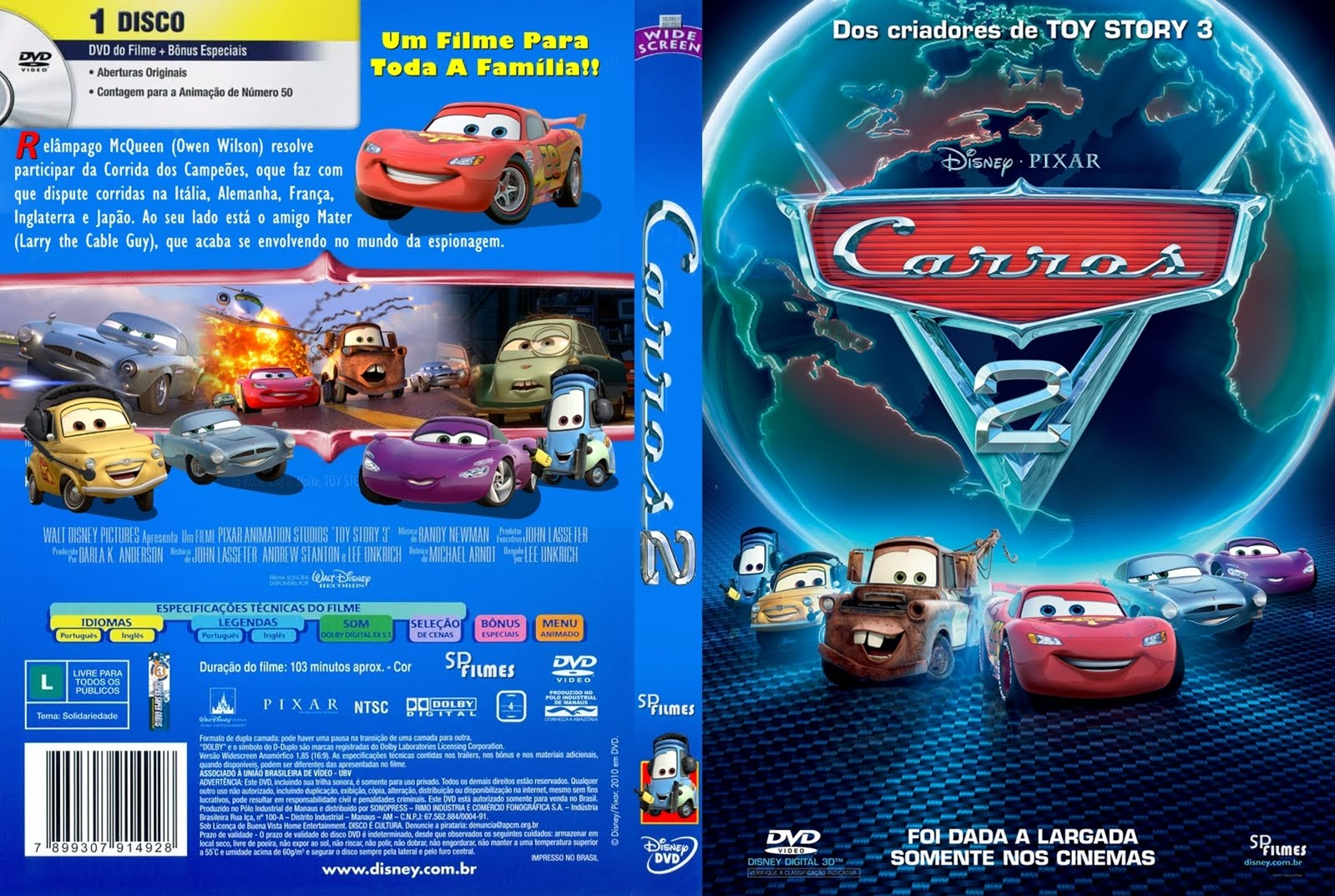Apollo Collition Baixar Carros 2 Dublado Avi Rmvb Capa Do Filme