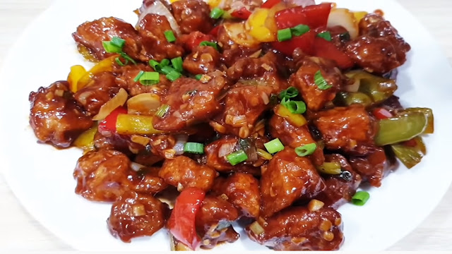 Boneless Chili Chicken and Soya Chilli Recipe