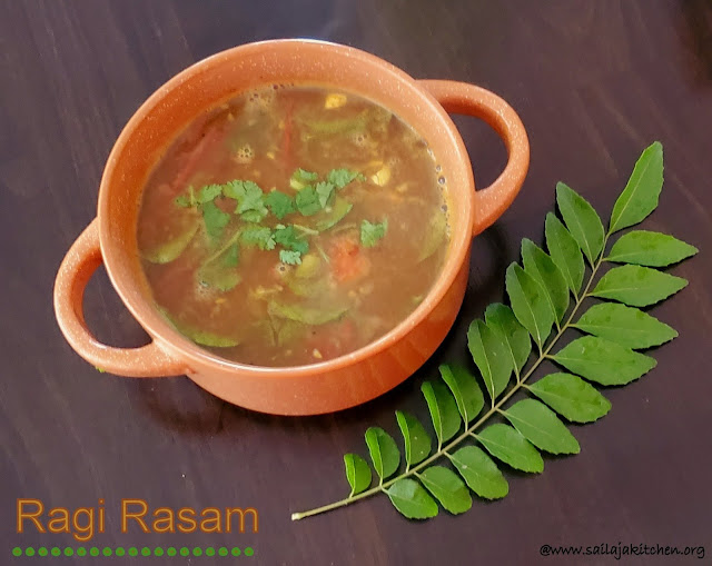 images of Ragi Rasam / Finger Millets Rasam / Rasam Recipes