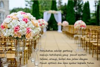 Kartu ucapan selamat pernikahan Kristen