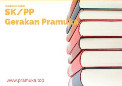 Kumpulan SK, PP, Jukran Gerakan Pramuka Lengkap