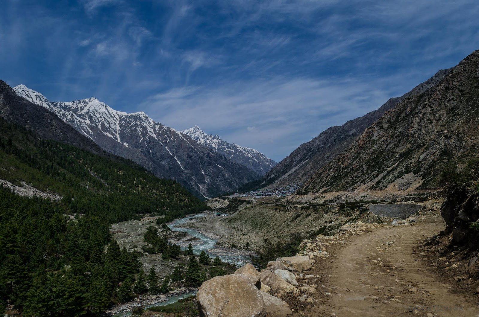 Chitkul village ,Baspa valley , Kinnaur