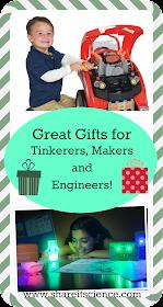 gift ideas tinker, maker engineer, STEM