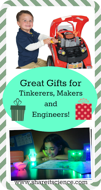gift ideas tinker, maker engineer, STEM