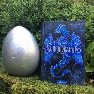 """""""Silberdrache"""" von Angie Sage, erschienen im Verlag ArsEdition, Rezension auf Kinderbuchblog Familienbücherei"""