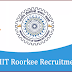 INDIAN INSTITUTE OF TECHNOLOGY ROORKEE: OPENING POST FOR PROJECT POSITION 2018