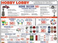 Hobby Lobby Weekly Ad - Hobby Lobby Ad This Week 9/19/21