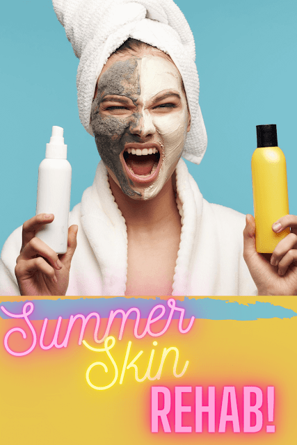 Reabilitação de pele de verão por Top Beauty Blogger Barbies Beauty Bits