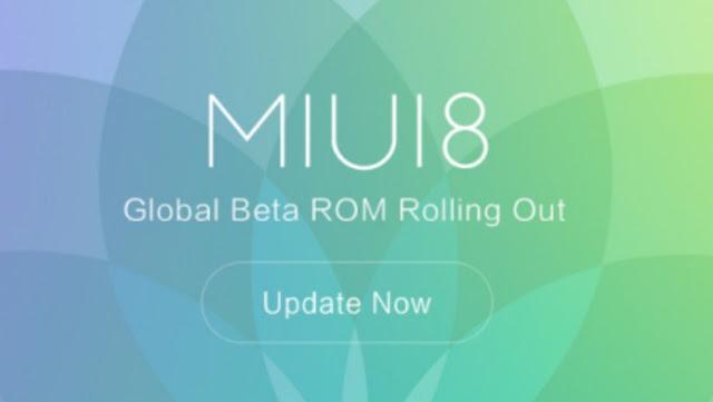 Smartphone Xiaomi yang Mendapatkan Update MIUI 8 Beta Global