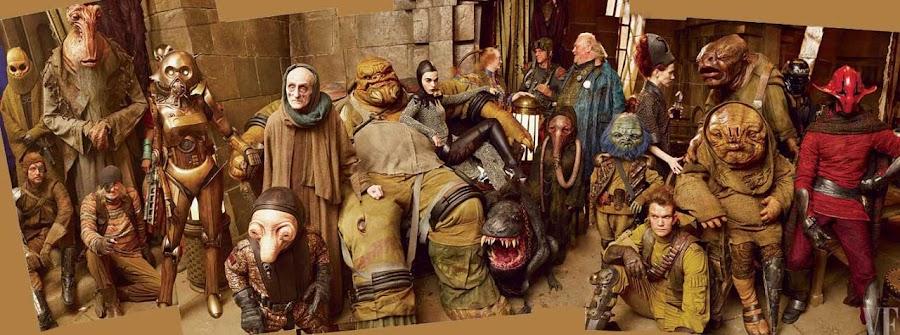 Imagen de efectos prácticos Star Wars VII