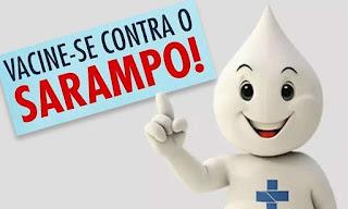 Campanha de Sarampo: crianças e jovens têm até 13 de março para se vacinarem