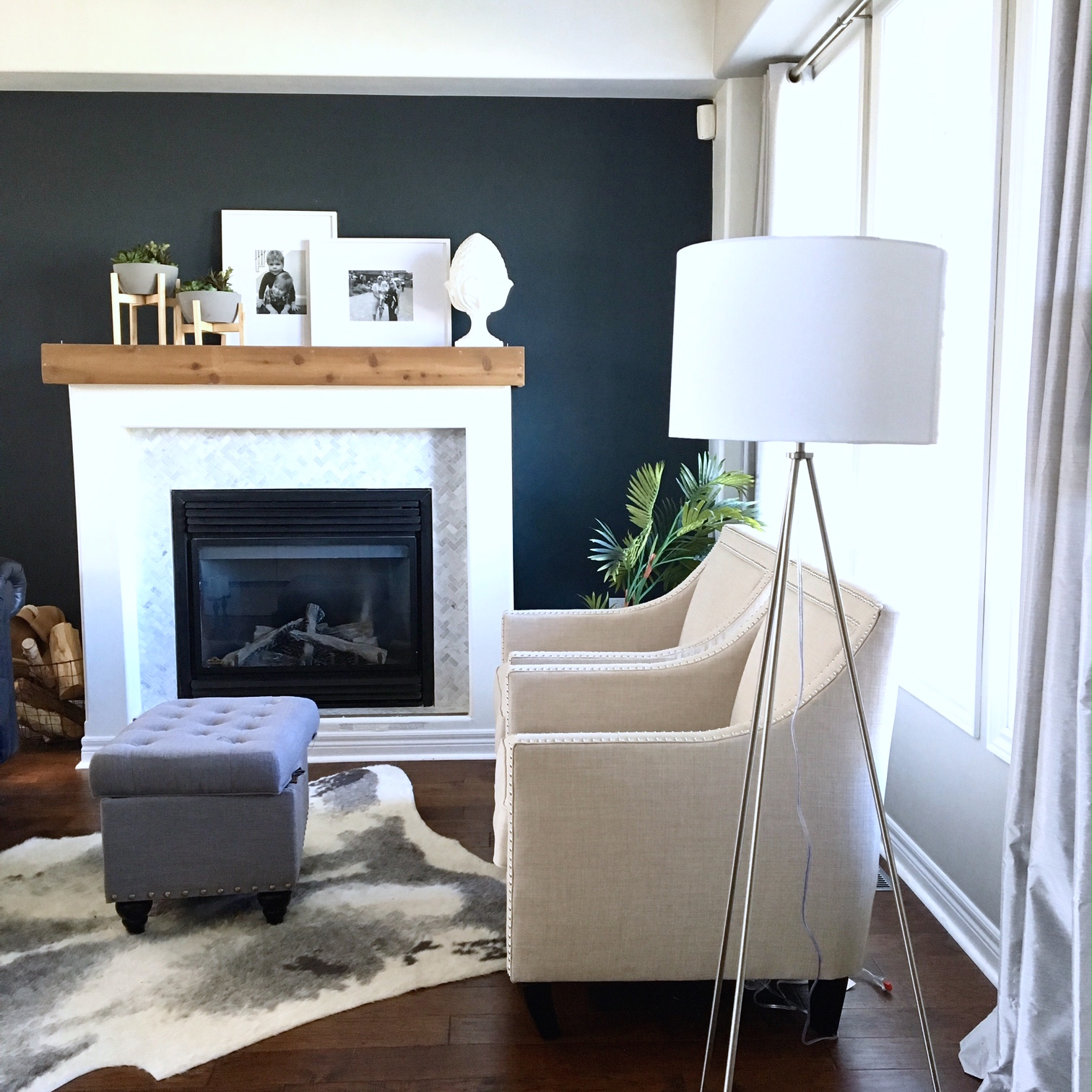 Tripod floor lamp 5 ways harlow thistle home design for M s living room accessories