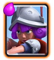 Ringkasan dan cara menggunakan kartu Musketeer untuk strategi battle deck clash royale