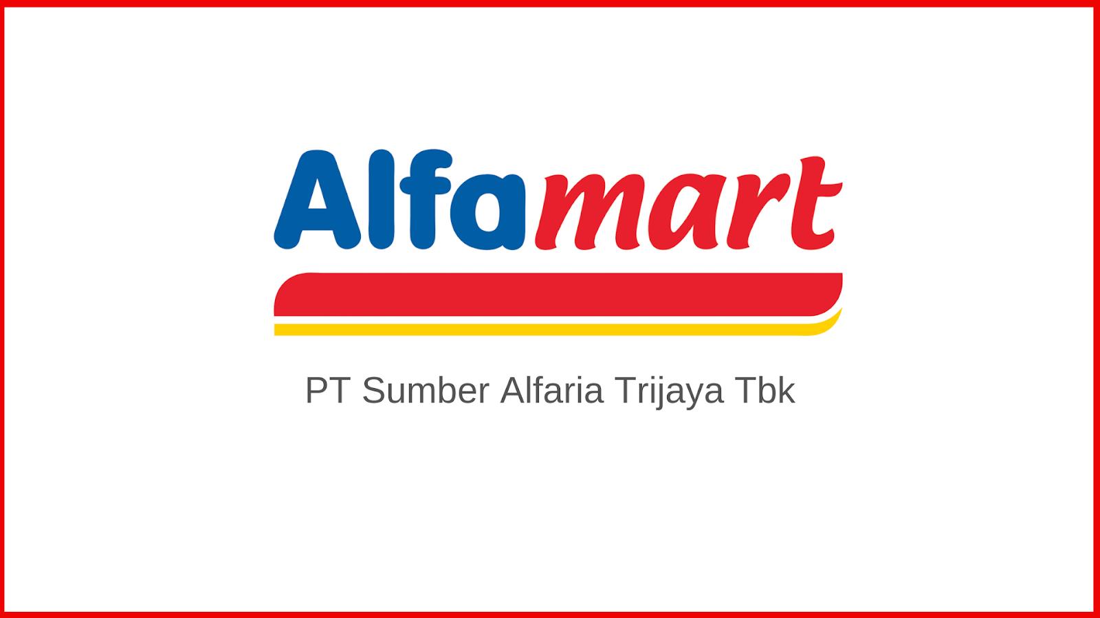 Lowongan Kerja Pt Sumber Alfaria Trijaya Tbk Alfamart Terbaru 2021