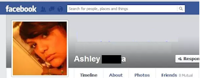 fake facebook account image search