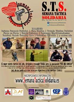Aquí esta el enlace para más información de este magnifico evento:                                 http://www.semanatacticasolidaria.es/