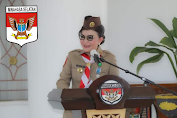 Bupati Tetty Paruntu Peringati Hari Pramuka Ditengah Pandemi Covid-19