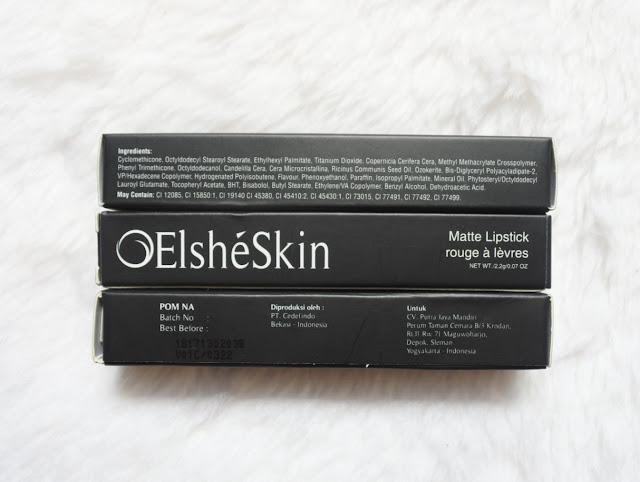 Elsheskin Matte Lipstick